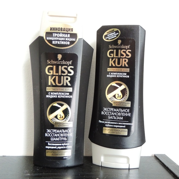 Schwarzkopf Gliss Other - Schwarzkopf Shampoo & Conditioner from Russia